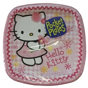Hello Kitty Small 7 Inch Party Cake Dessert Plates